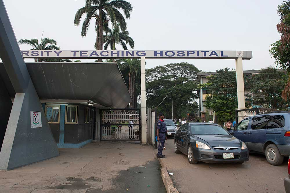 LUTH teaching hospital entrance