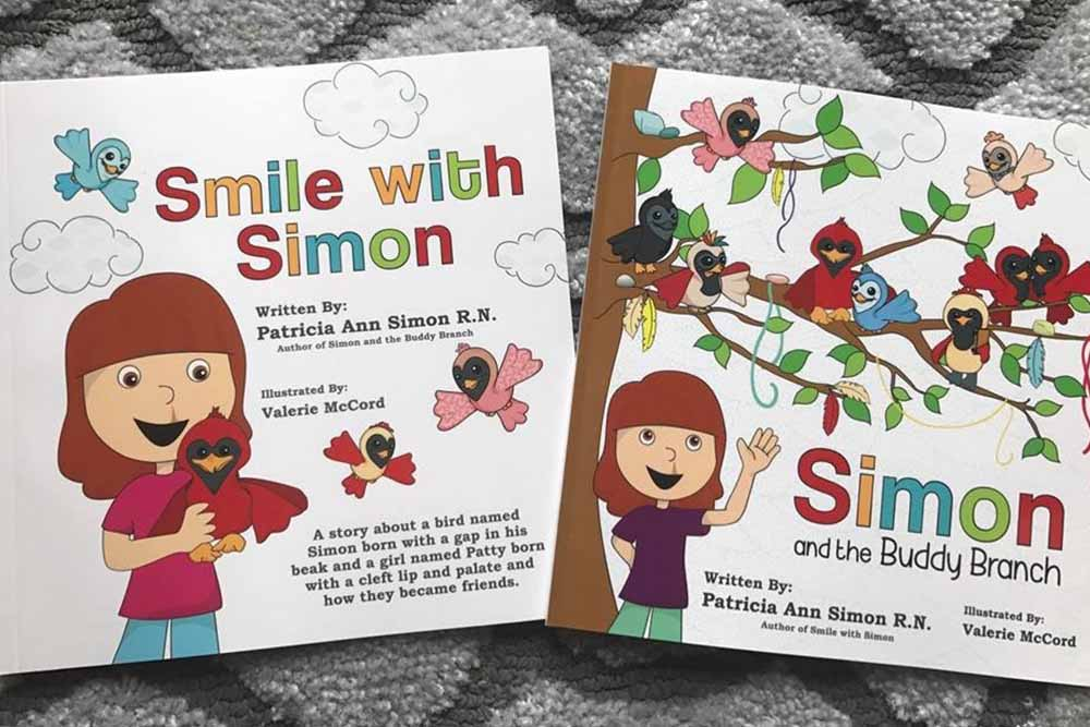 Patricia's book Smile with Simon