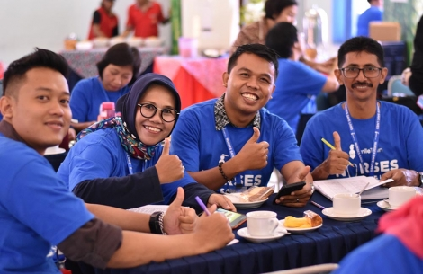 Nurse training saves lives event in Indonesia