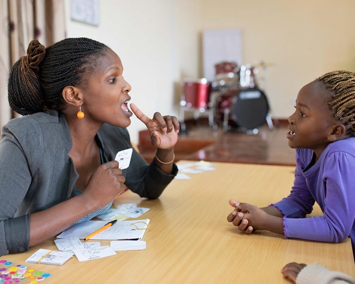 Speech therapy in Kenya